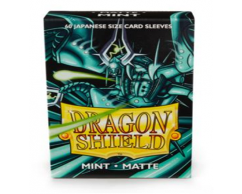 Small Sleeves - Japanese Matte Mint (60 Sleeves)