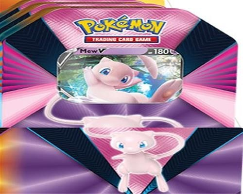 Pokemon Mew V Tin Box - Deutsch