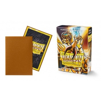 Small Sleeves - Japanese Matte Gold (60 Sleeves)