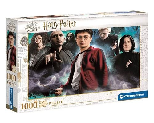 Harry Potter Puzzle Harry vs. the Dark Arts 1000 Teile - Clementoni