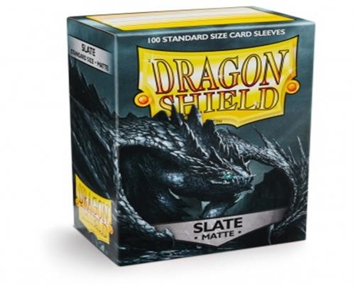 Dragon Shield Standard Sleeves - Matte Slate (100)