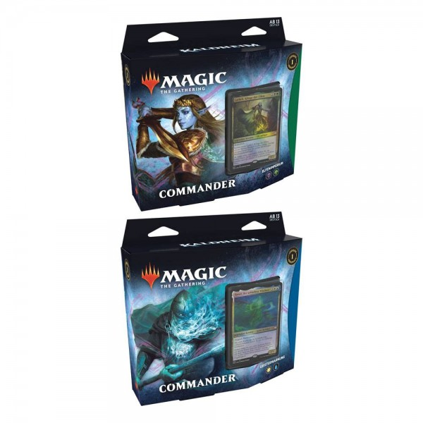 Kaldheim Commander-Deck- 2 Deck Set - Deutsch