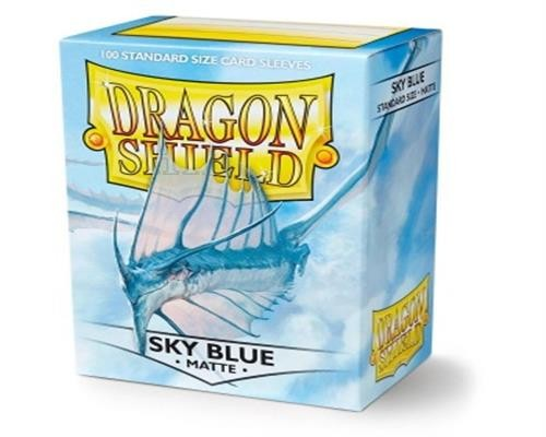 Dragon Shield Standard Sleeves - Matte Sky Blue (100)