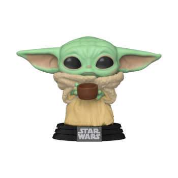Funko- Star Wars: Mandalorian - The Child w/cup