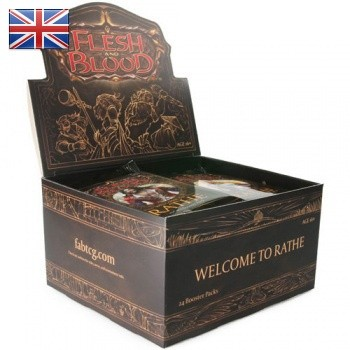 Welcome to Rath Unlimited Booster Display - Flesh & Blood TCG