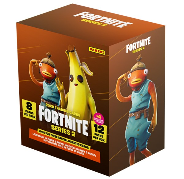 Panini Fortnite Serie 2 Mega Blaster Box