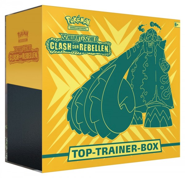 Schwert und Schild Clash der Rebellen Top-Trainer-Box ( Deutsch )