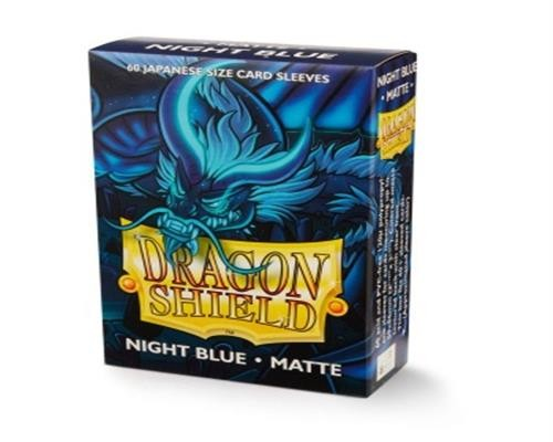 Small Sleeves - Japanese Matte Night Blue (60 Sleeves)