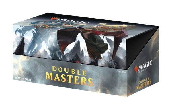 Magic - Double Masters Draft-Booster Display -Englisch