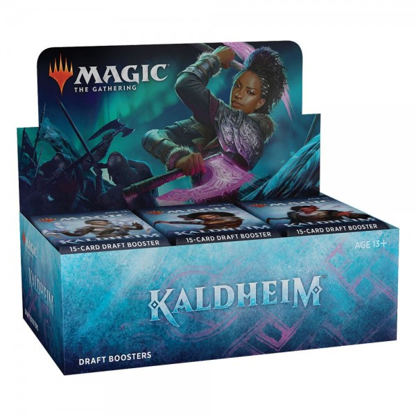 Kaldheim Draft-Booster Display - Englisch