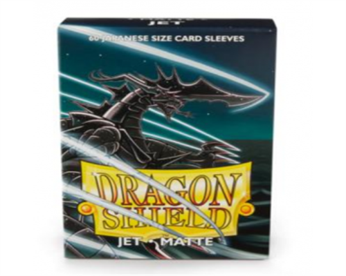Small Sleeves - Japanese Matte Jet (60 Sleeves)