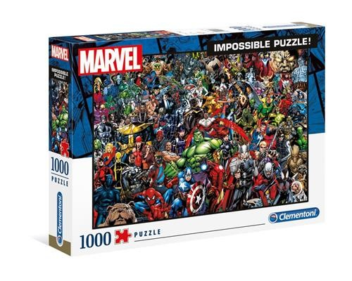 Marvel 80th Anniversary Impossible Puzzle Characters 1000 Teile