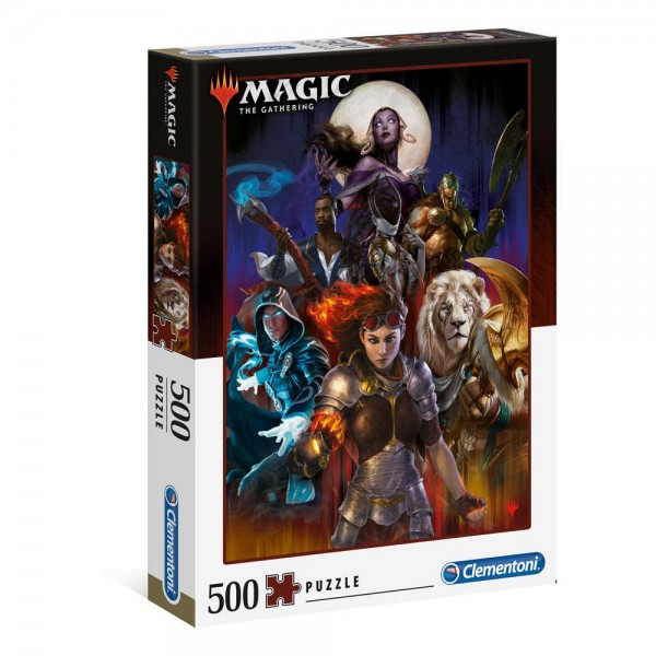 Magic the Gathering Puzzle Planeswalker 500 Teile - Clementoni