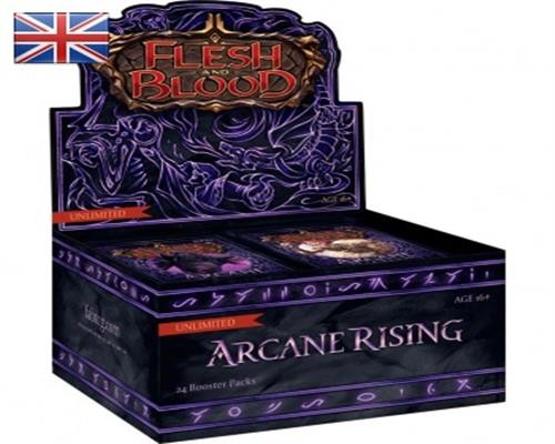 Arcane Rising Unlimited Booster Display - Flesh & Blood TCG