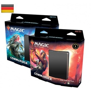 Commander Legends - Commander Decks - 2 Deck Set ( beide Decks) -Deutsch