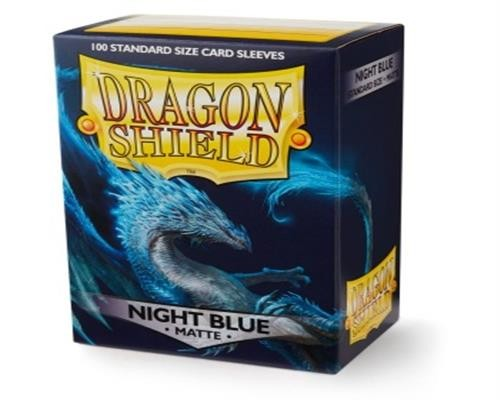 Dragon Shield Standard Sleeves - Matte Night Blue (100)