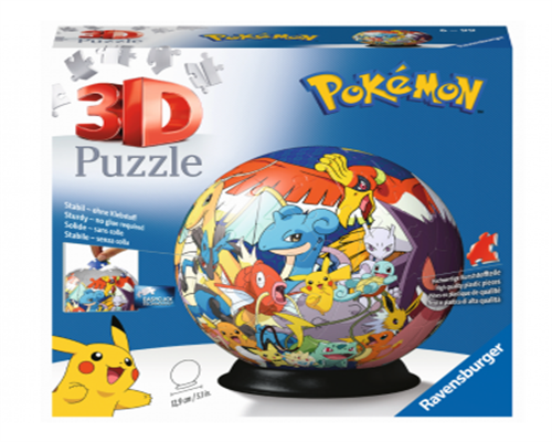 Pokemon 3D Puzzle